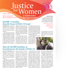 Justice for Women newsletter