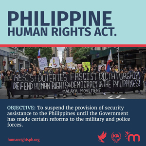 Pass the Philippine Human Rights Act!